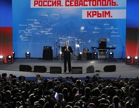 Путин, Севастополь